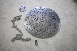 Фигурная резка металла