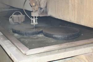 Гидроабразивная резка металла 100мм