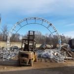 металлическая арка
